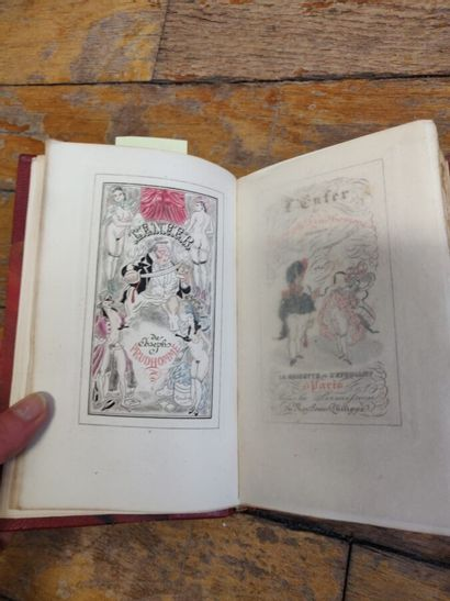 J. Prud'homme, L'enfer, 1 vol. illustré,...
