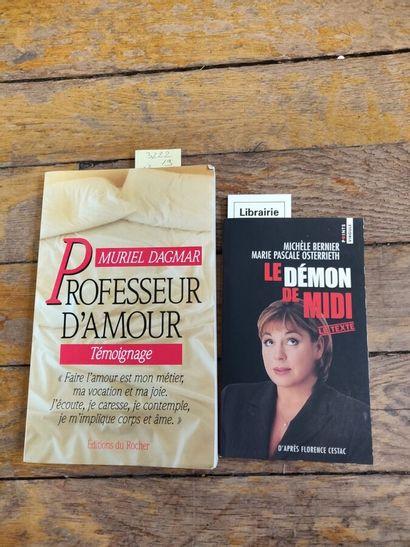Lot de deux livres brochés : Le démon de...