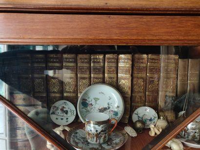 Lot de livres reliés «Buffon».