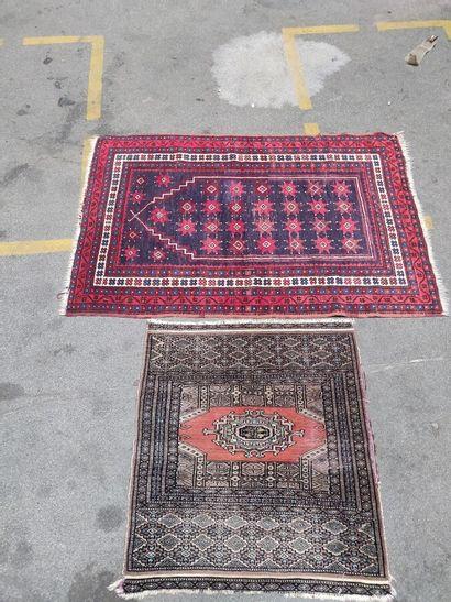 Lot de deux tapis 118 x 82 cm pour le plus...