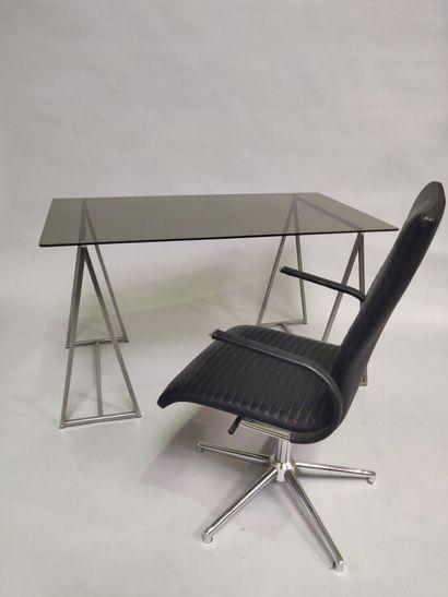 Ensemble de bureau comprenant une table bureau,...