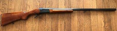 Fusil à un coup, calibre 12, marque Baïkal,...