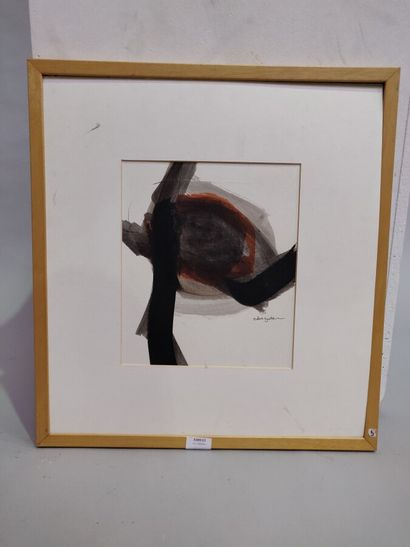 ZEIDAN Salwa (XX-XXI)  Abstraction  Encre...