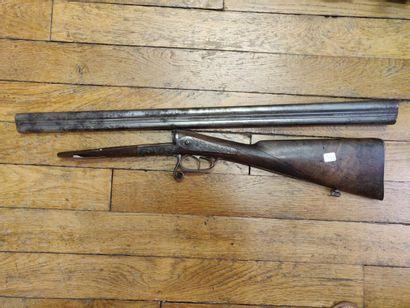 Fusil de chasse calibre 16, incomplet.