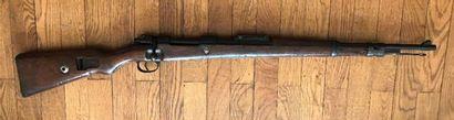 Fusil Mauser 98K, calibre 8 x 60S N°1350...