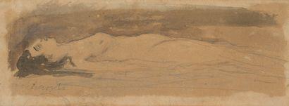 41. Attribué à Eugène CARRIERE (1849-1906)...