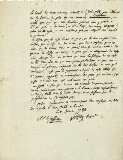 76. Antoine-Laurent de JUSSIEU (1748-1836)...