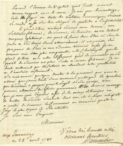 78. Antoine PARMENTIER (1737-1813) agronome...