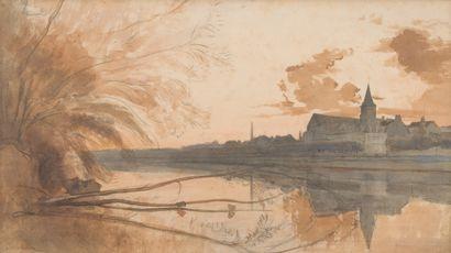 13. Attribué à Léon VILLEVIEILLE (Paris 1823...