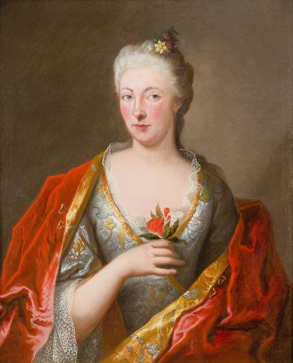 26. École française vers 1720, dans l'entourage...