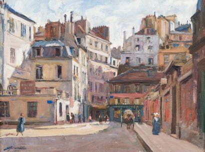 51. Lucien Hector JONAS (1880-1947)   Rue...