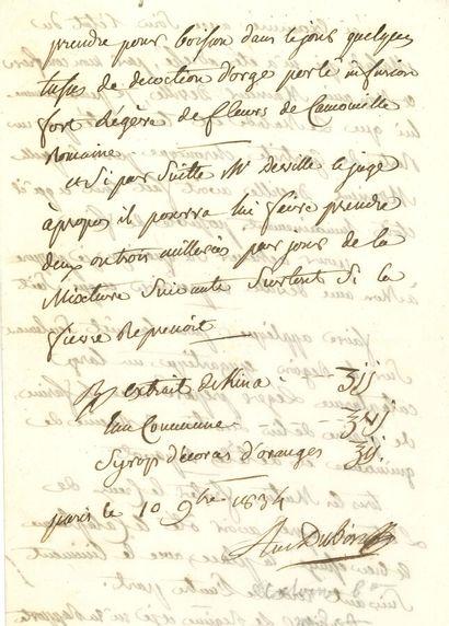 73. Antoine, baron DUBOIS (1756-1837)  chirurgien,...