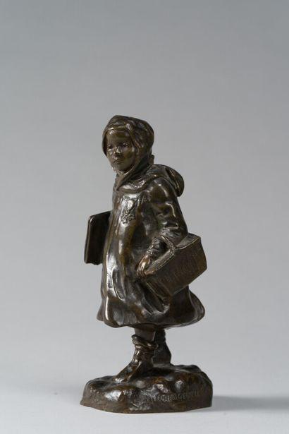 210. CHARGEBOEUF, H.  Jeune fille au panier...
