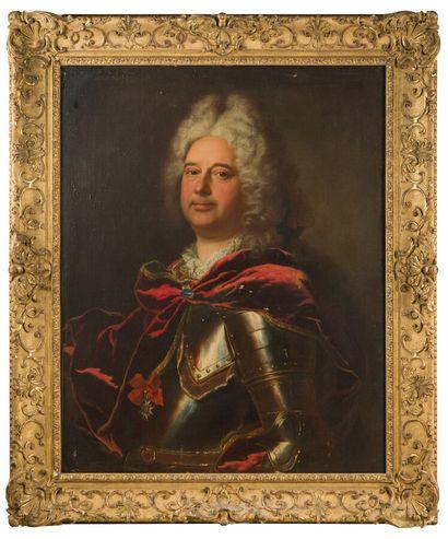 22. Hyacinthe RIGAUD (1659-1743)  Portrait...