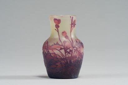 238. Camille de VEZ (1872-1942)  Vase balustre...