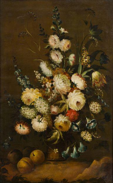 32. École française du XIXe siècle  Bouquet...