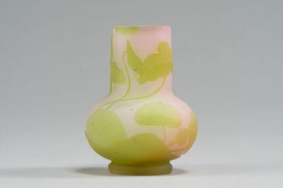 240. Emile GALLE (1846-1904)  Petit vase...