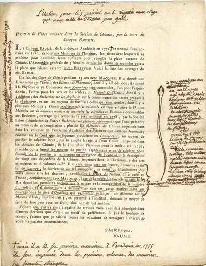 69. Michel ADANSON (1724-1806) naturaliste...