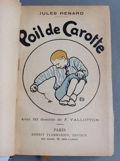 61 RENARD (Jules) VALLOTTON (Félix)  Poil...