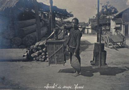 Ensemble de photos et cartes postales anciennes...