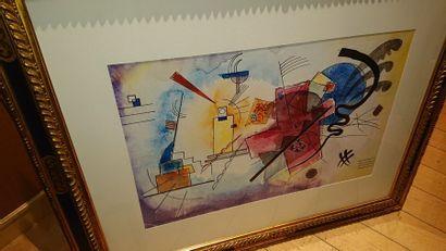Suite de quatre gravures «Kandinsky» 44...