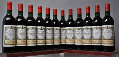 12 bouteilles CHÂTEAU RAUZAN-GASSIES - 2e...