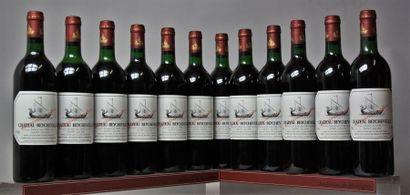 12 bouteilles CHÂTEAU BEYCHEVELLE - 4e GCC...