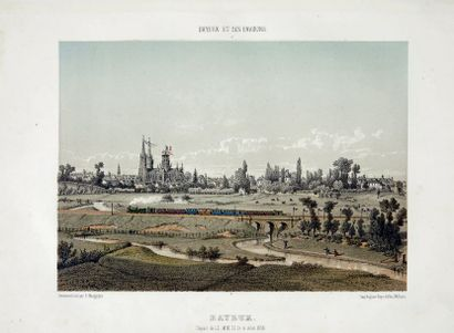 MAUGENDRE (A.) Bayeux et ses environs. Album composé des vues les plus remarquables:...