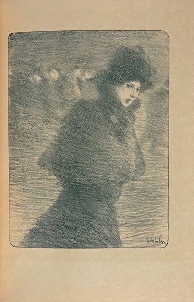 DELMET (P.) Chansons de femmes. Paris, Enoch & Cie - Paul Ollendorf, sans date [1896],...