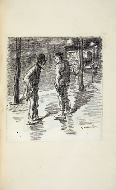 DESCAVES (L.) Barabbas. Paroles dans la vallée. Paris, Eugène Rey, 1914, 2 vol. grand...