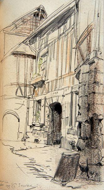 DUBOSQ (G.) Rouen d'hier et d'aujourd'hui. Paris, A. Blaizot Éditeur, 1908, fort...