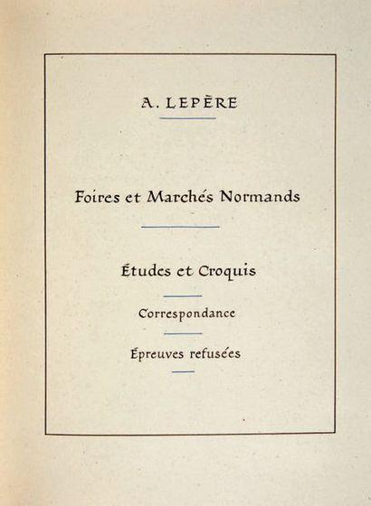 LEPÈRE (A.)