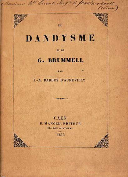 BARBEY D'AUREVILLY (J.-A.)