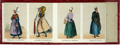 [...]. COSTUMES de la Basse-Normandie. Paris,...