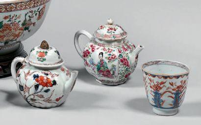 CHINE, Compagnie des Indes - XVIIIe siècle