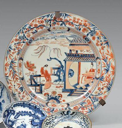 CHINE, Compagnie des Indes - Époque KANGXI (1662-1722)