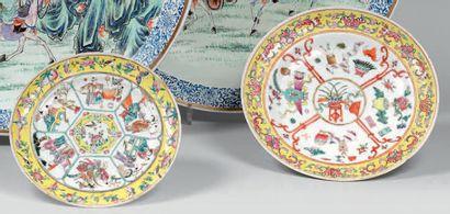 CHINE, Canton - Époque Qianlong (1736-1795)