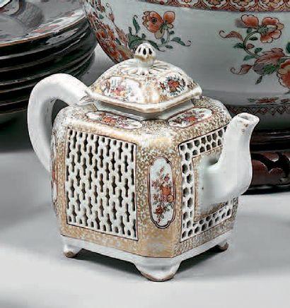 CHINE, Compagnie des Indes - Époque Qianlong (1736-1795)