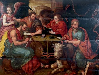 École Flamande de la fin du XVIe ou du début du XVIIe siècle