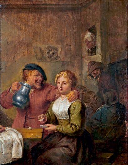 Ecole Flamande dans le goût du XVIIe siècle