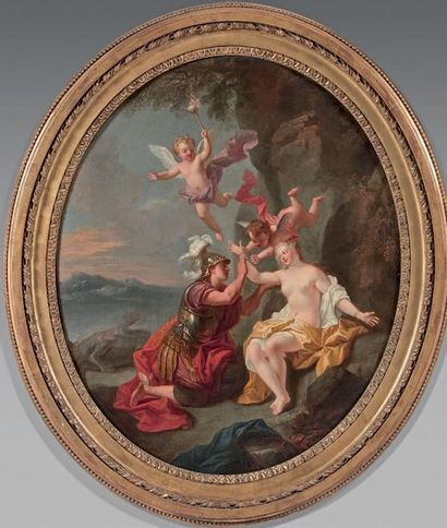 Entourage de Louis BOULLOGNE (1654-1733)
