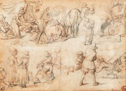 Attribué à Jan BRUEGHEL (1558-1625)