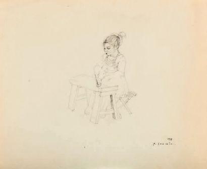Jean COMMÈRE (1920-1986) Provenant de l'atelier de l'artiste, par succession dans sa descendance