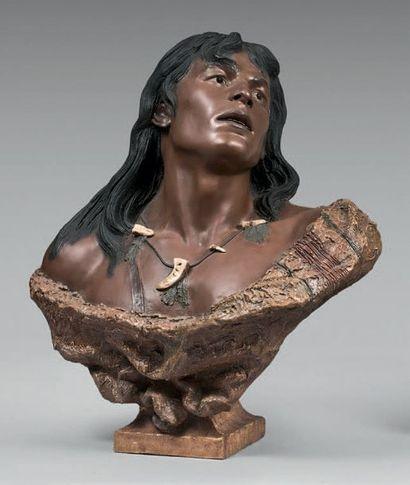 Friedrich GOLDSCHEIDER Indien d'Amérique