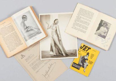 BAKER (Freda Josephine McDonald dite Joséphine). 4 pièces. - BAKER (Joséphine). Lettre...