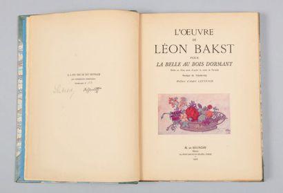 BAKST (Lev Samuilovitch Rosenberg, dit Léon).LEVINSON (André).