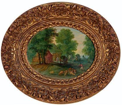 Ecole Flamande, vers 1630