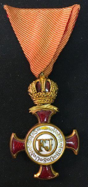 Autriche - Croix du Mérite civil, fondé en...