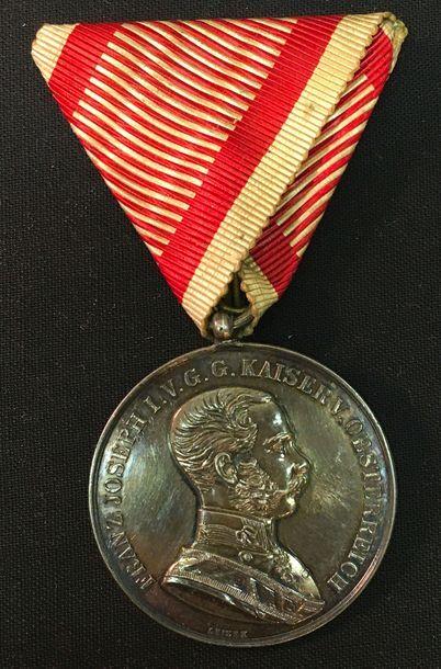 Autriche - Médaille pour la bravoure, grand...