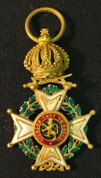 Belgique - Ordre de Léopold, fondé en 1832,...